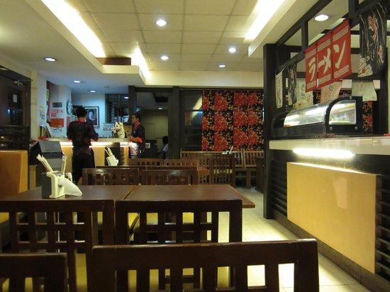 Shinjuku Ramen Restaurant: inside store