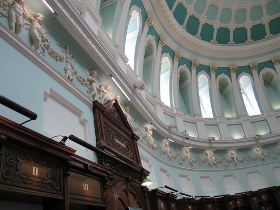 National Library of Ireland: Inside the Dome