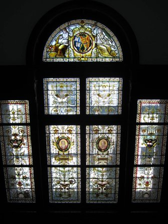 National Library of Ireland: Beautiful Stained Glass