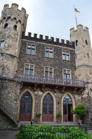 Reichenstein Castle: Courtyard