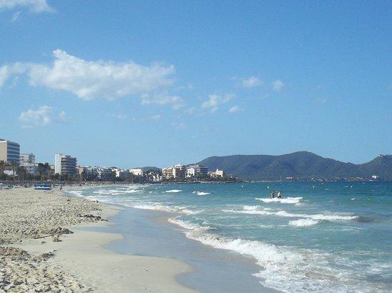 Hipotels Cala Millor Park : plage de cala millor