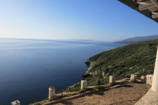 Blue Caves Villas: View from one of the villas