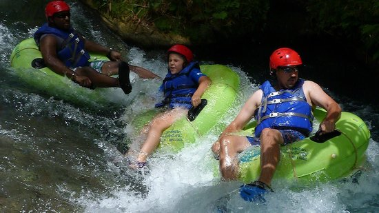 Beaches Ocho Rios Resort & Golf Club: River tubing tour