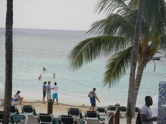 Beaches Ocho Rios Resort & Golf Club: View from main deck