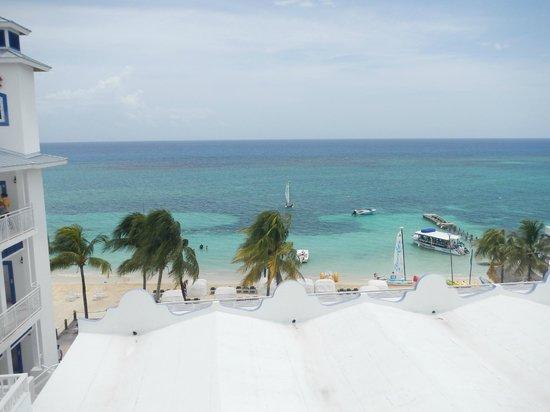 Beaches Ocho Rios Resort & Golf Club: View from the main pool