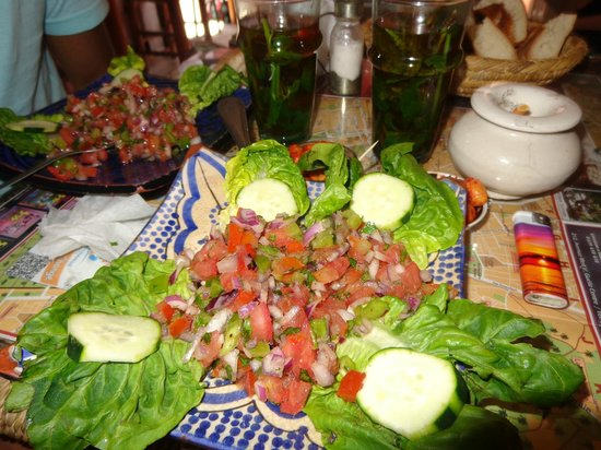 Baganziz Cafe : Entry salad