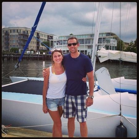 Charleston Sailing Adventures Prevailing Winds: All smiles back at the dock. Great afternoon!