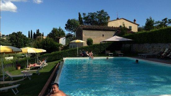 Hotel San Michele: La piscina