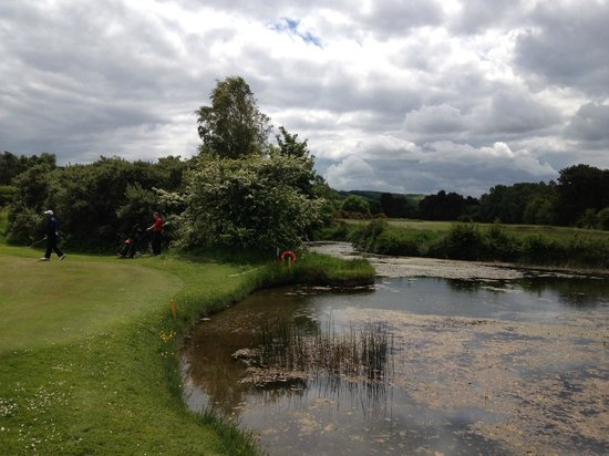 Ganton Golf Club: Pond between holes 5 (Par 3) and 6 (Par 5)