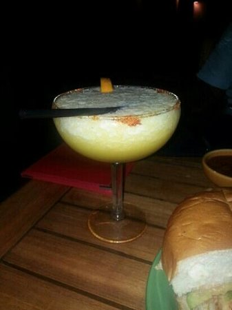 La Hacienda : mango margarita