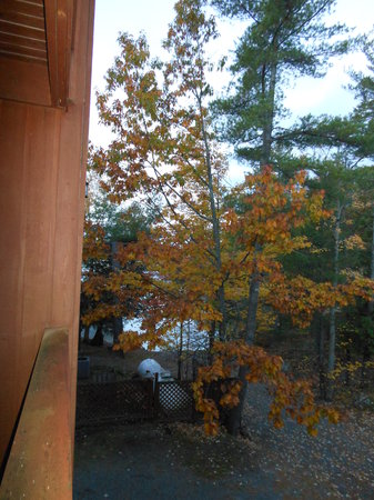 "Westwind Inn on the Lake: View from our balcony ( not considered ""lakeside' !)"