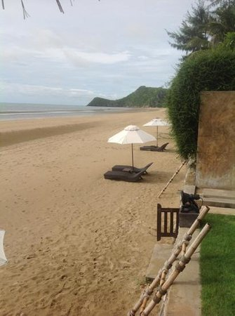 Aleenta Hua Hin Resort & Spa: View from Coconut Palm Pool Suite