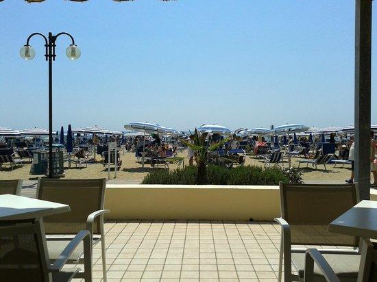 Hotel Ornella: La veranda