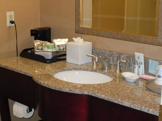 Hampton Inn Baltimore-Downtown-Convention Center: Clean large bathroom