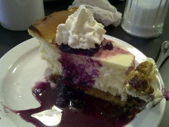 The Downtown Diner : House made Cheesecake