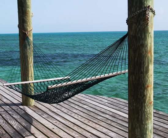 Small Hope Bay Lodge : Best hammock at Small Hope!