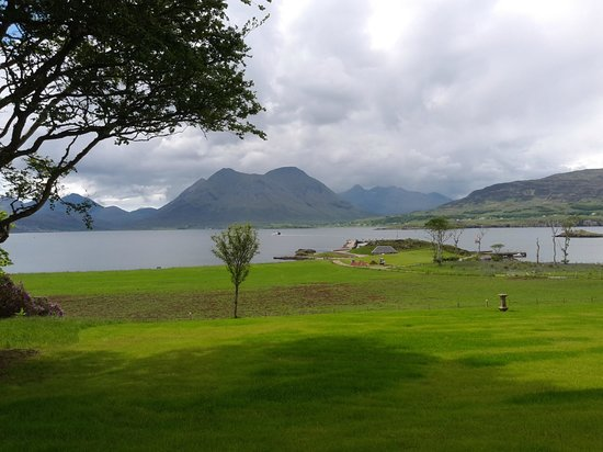 View from Raasay House over to Skye.