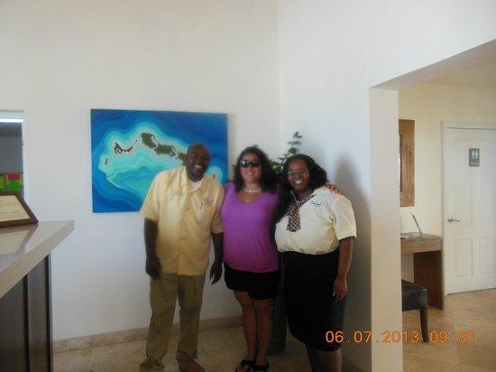 ذا ألكسندرا ريزورت: Lobby with the amazing staff!