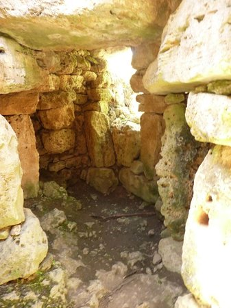 Talati de Dalt: inside a ruined house.