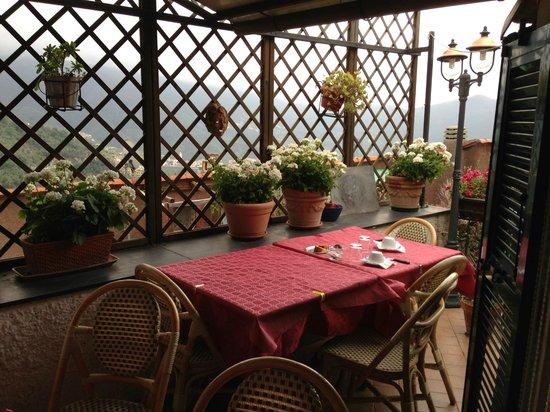 Agriturismo Il Frantoio: La Terrazza del ristorante