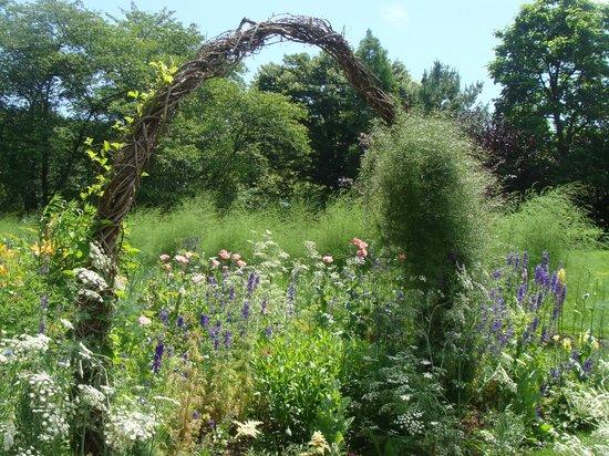 Chanticleer: flower garden