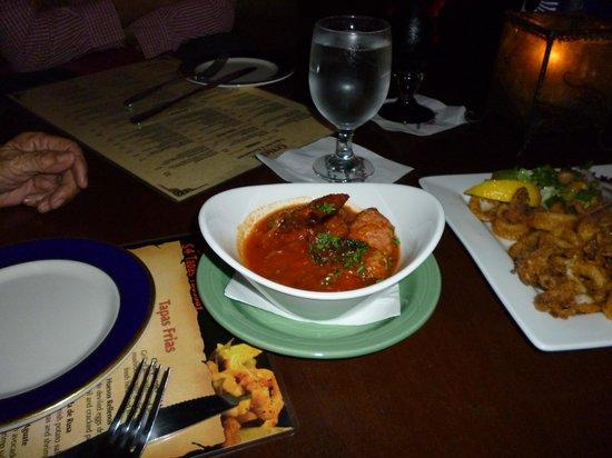 Ceviche Tapas Bar and Restaurant: calamari + Croquetas2