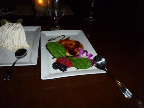 Ceviche Tapas Bar and Restaurant: egg plant