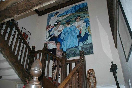 Nere-Chocoa: Escalier menant aux chambres
