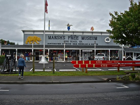 Marsh's Free Museum: A landmark on the southern Washington coast