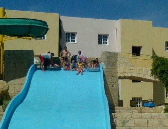Houda Golf and Beach Club: slide pool