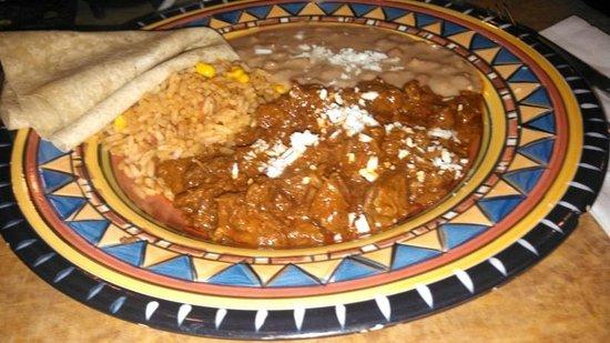 La Olla Mexican Cafe: Chili Rojo