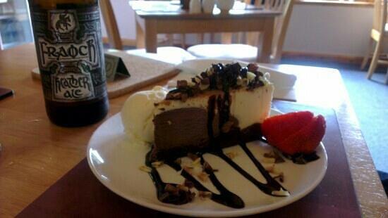 Glen Rowan Cafe: Beautiful pudding!