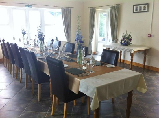 Dining room picture of west carlton country guest house for Dining room 101 heswall