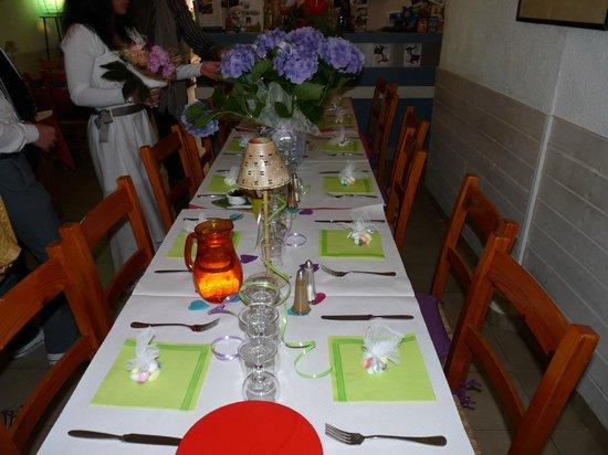 Le Jardin du Naris : super belle table