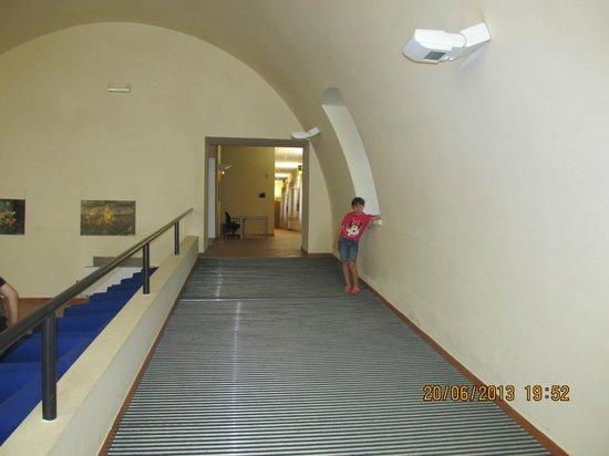 Planetario - Villa Framarino: Accesso al planetario e sala congressi