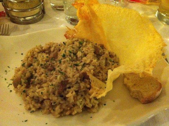 Al Cavallo: Mushroom risotto :)