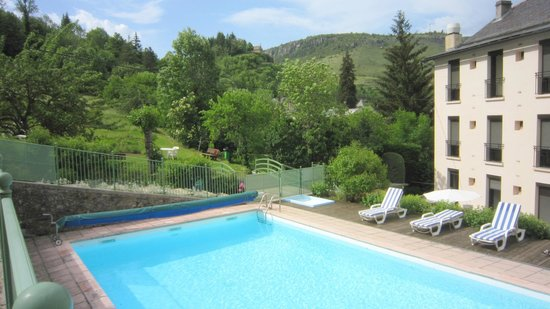 Hotel du Mont Aigoual : Piscine