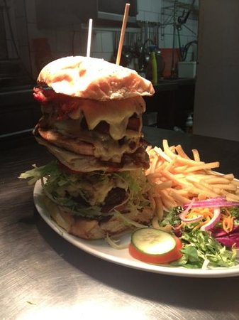 Bromley, UK: OMG burger.... are you man enough?