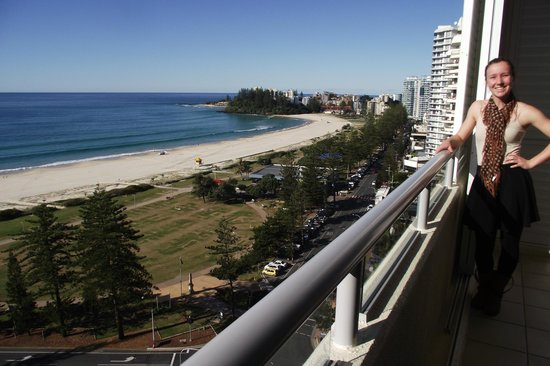 Blue C Coolangatta: View from 14th floor
