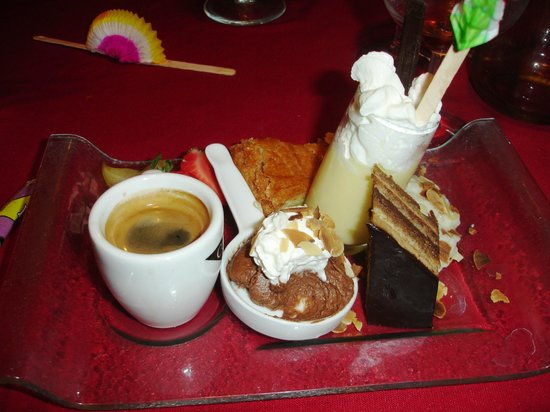 Restaurant Camette : Cafe Gourmand