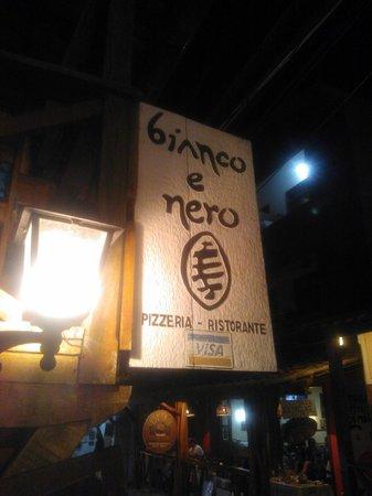 Ristorante e Pizzeria Bianco e Nero: Muy bueno