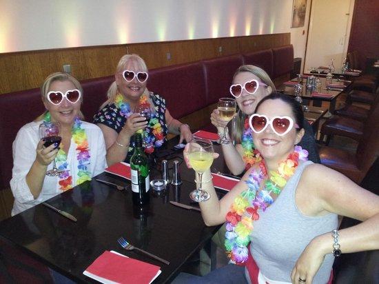 The Robettes at Villaggio.
