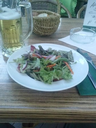 Cafe-Hotel Konig: Salad