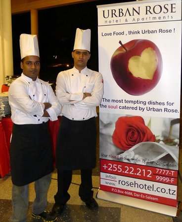 Urban Rose Hotel and Apartment: Our Chefs