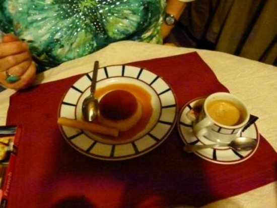 Chez Maya - Le Petit Grill Basque : Creme caramel