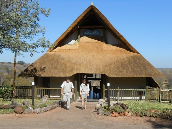 Victoria Falls Safari Lodge: Club entrance to VSF Lodge