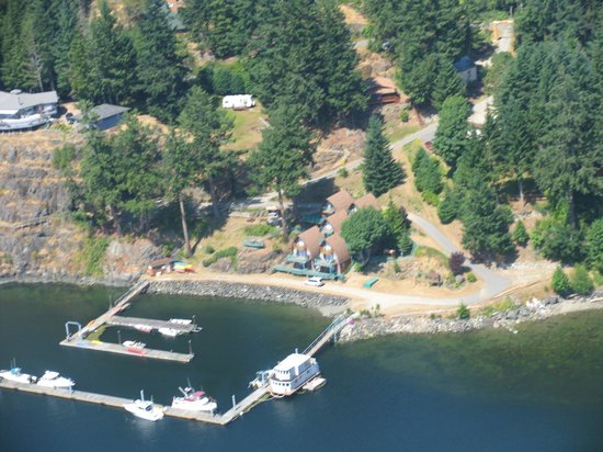 Seascape Waterfront Resort: Aerial view of Seascape