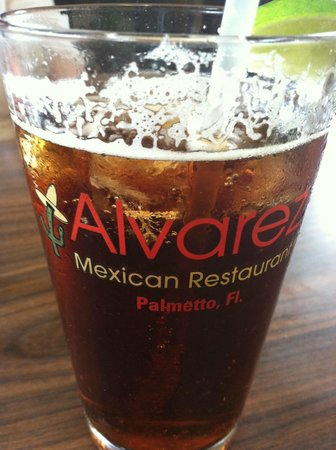 Alvarez Mexican Foods: Yes, I ice my draft but you don't have to.