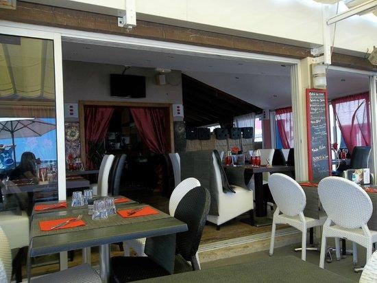 Le Coco Beach: L'entrée du restaurant