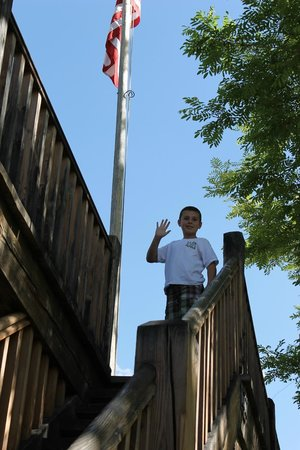 Cove Fort: Fun place for kids to explore